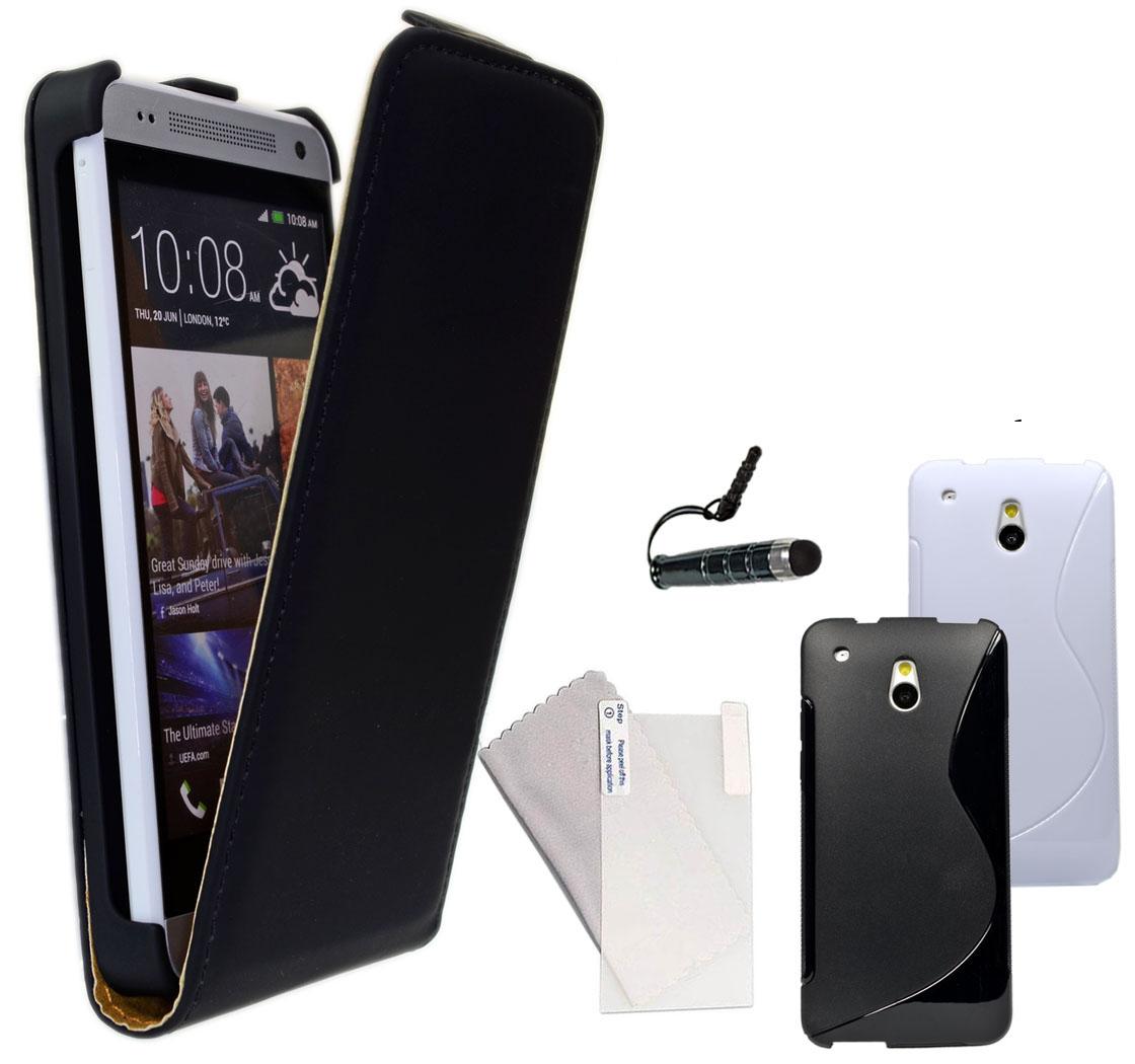 Handy Tasche für HTC One Smartphone Desire Flip Case Tasche Schutz Hülle Zubehör