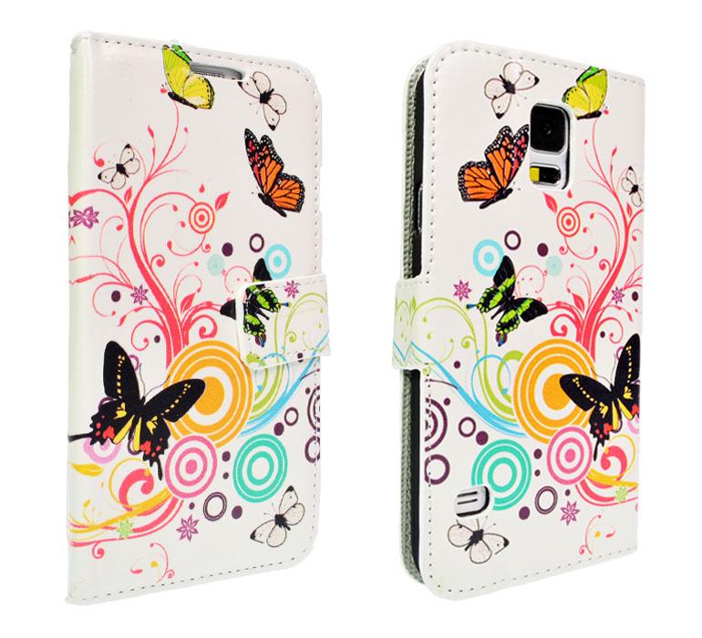 Handy-Tasche-fuer-verschiedene-Modelle-Flip-Case-Schutz-Huelle-Motiv-Etui-Cover