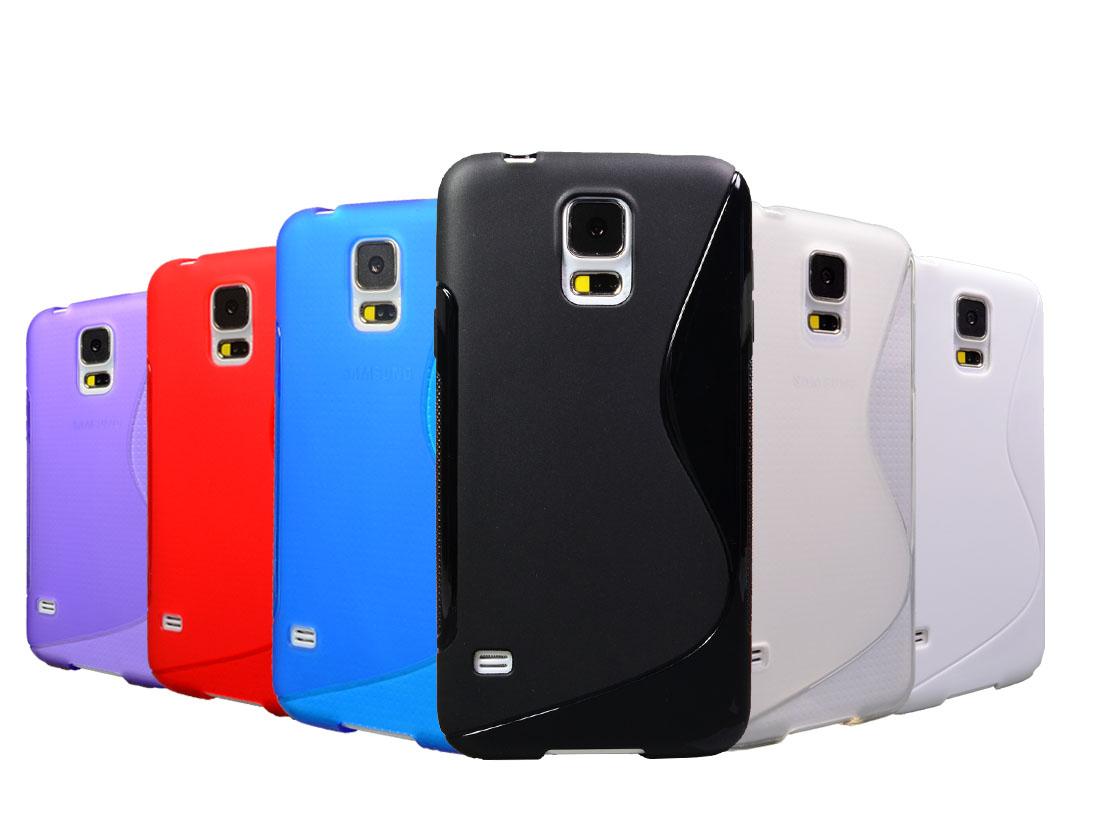 Handy-Tasche-fuer-Samsung-Galaxy-Smartphone-TPU-Silikon-Case-Schutz-Huelle-Cover
