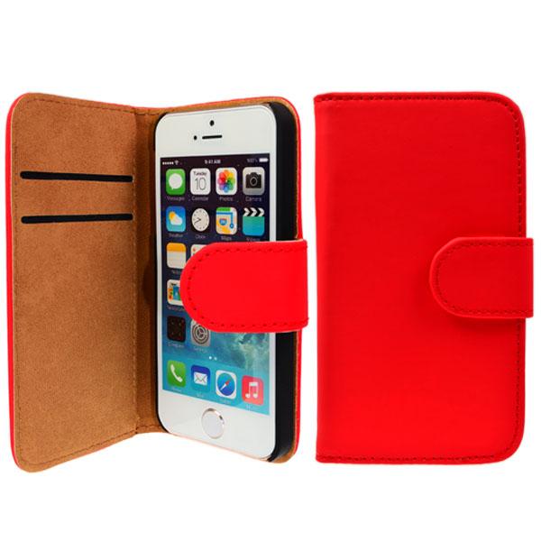 iPhone-5-5S-Tasche-Flip-Case-Cover-Schutz-Huelle-Schale-Bumper-Handy-Tasche