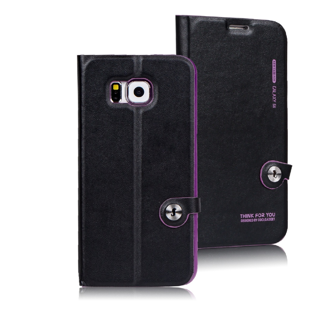 Exclusiv Handy Tasche Schutz Hülle für Samsung Galaxy Flip Case Wallet Cover