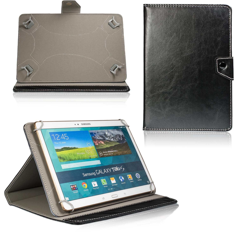 tablet schutz h lle f r 10 zoll tab universal tasche klapp case cover etui ebay. Black Bedroom Furniture Sets. Home Design Ideas